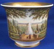 Antique Mid 19thC KPM Berlin Porcelain Scenic Cup Porzellan Tasse Scene German