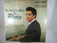 """Elvis Presley """"His Hand In Mine"""" RCA Living Stereo LSP-2328 VG+/NM cover VG+"""