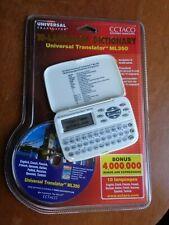 Ectaco ML350 Handheld Electronic Universal Translator Dictionary Sealed