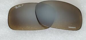 Ray-Ban RB8313CH Replacement lenses GREY Mirror Chromance 100% Authentic 62mm