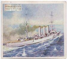 """Ww One German Light Cruiser """"Emden"""" c80 Y/O Trade Ad Card"""