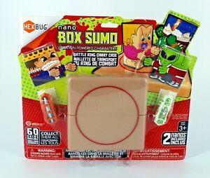 NEW HexBug Nano Box Sumo Carry Case Battle Ring SEALED Alien Monster