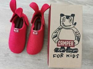 camper for kids red shoes