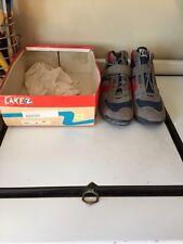 NOS Lake Sport Class 5 Mountain Bike Biking Shoes Size 41 US 7.5 Gray Vintage