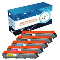 5X High Yield TN221 Toner Replace for Brother MFC-9130CW MFC-9330CDW MFC-9340CDW