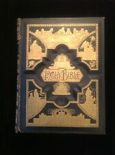 Antique Holman Bible Leather,Self Pronouncing Edition, Marginal References, VG.