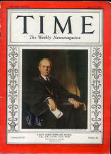 Time Magazine June 15 1936 Yale's James Rowland Angell *Time