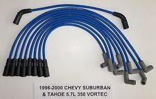 CHEVY VORTEC 1996-97-98-99-2000 5.7L 350 TAHOE & SUBURBAN BLUE Spark Plug Wires