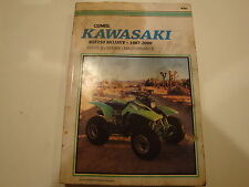 87-00 Clymer Kawasaki 250 Mojave Service Repair Maintenance Manual KSF250