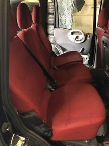 Fiat Multipla Seats, Red