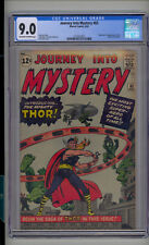 Journey into Mystery #83 CGC 9.0 VF/NM Unrestored Marvel 1st Thor OW/W Pages