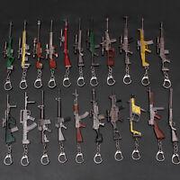 Men's Car Pendant Key Chain Gun Weapon Keyring Key Ring Fashion Cute Gift New