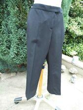 Joseph black cropped trousers 44