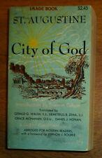 St Augustine City of God Paperback 1958 Image Books Abridged Version