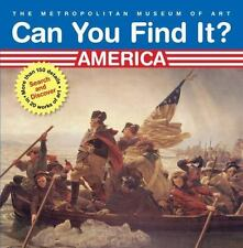 Can You Find It? America: Search and Discover More Than 150 Details in 20 Works