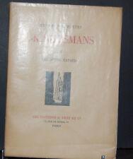 "OEUVRES COMPLETES DE J.K.HUYSMANS ""les soeurs Vatard"" TIII, 1928,"