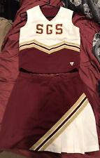 Varsity cheerleading uniform Adult Large Top Small Skirt