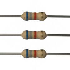 100 x 6.8k Ohm Carbon Film Resistors - 1/2 Watt - 5% - 6K8 - Fast USA Shipping