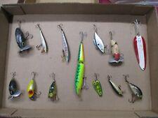 New listing Vtg. Lot of 13 Vintage Fishing Lures, Arbogast, Heddon and Others