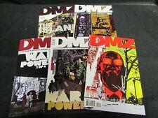 DMZ: War Powers #36-40 (2009) Vertigo Comics NM 9.0-9.4 M278