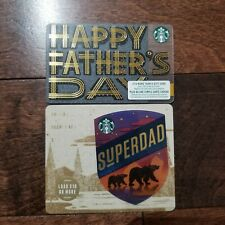 2019 STARBUCKS CANADA FATHER'S DAY CARD  -------- NEW