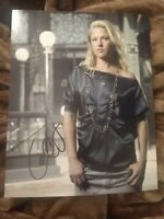 ALI LARTER SIGNED 8X10 PHOTO HEROES SEXY W/COA+PROOF RARE WOW