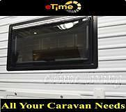 Dometic Alloy Chal Window 1100mm*450mm tinted double glazed Caravan Motohome
