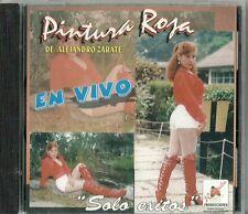 Pintura Roja    En Vivo Latin Music CD New