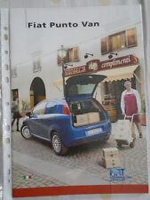 FIAT PUNTO Van BROCHURE APR 2007