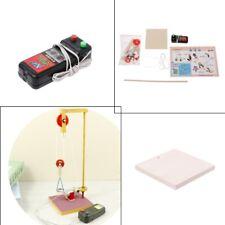Assembled Crane Model Science Technology Educational Experiment Children Toy DIY