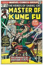 MASTER OF KUNG FU #29 June 1975 VF/NM 9.0 1st App RAZOR-FIST MARVEL MOVIE