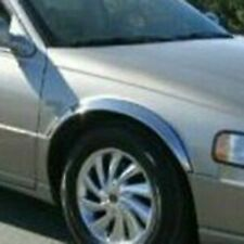 For Cadillac Seville 1998-2004 QMI Polished Stainless Steel Fender Trim Flares