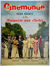 ►CINE MONDE 1192/1957-MYLENE DEMONGEOT-MAURICE RONET-RICHARD BURTON-GARY COOPER