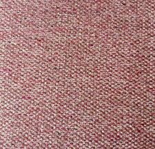 Romo Quinton Textured Weave Fabric Beetroot Pink Red Upholstery  50WX40L cm