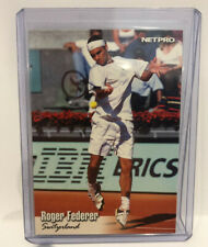 ROGER FEDERER 2003 NETPRO GLOSSY ROOKIE CARD (RC) #G-11 TENNIS LEGEND!