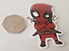 Deadpool 3D Effect Car Decal Sticker Cartoon Styling Window Marvel DC Kids