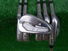 Ping Golf S55 Ferro Set 5-PW Acciaio X100 Extra Albero Rigido Giallo Colore Code