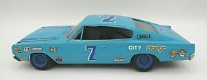 LOOK! NICELY BUILT MPC `67 DODGE CHARGER GRAND NATIONAL STOCK CAR 1/25 MODEL KIT
