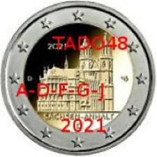 GERMANIA 2021 5X2 EURO  SASSONIA -ANHALT  DUOMO DI MAGDEBURGO  VEDI OFFERTA LEGG