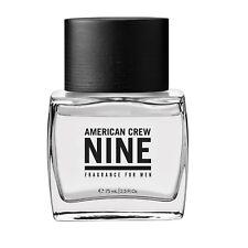 American Crew Nine Fragrance for Men 2.5 oz / 75 ml Warm fresh masculine scent