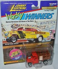 Wacky Winners - ROOT BEER WAGON - red/brown - 1:64 Johnny Lightning