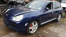 2005 PORSCHE CAYENNE TURBO 4.5 V8 M48.50, BLUE LM5W , AUTO, WHEEL NUT, BREAKING