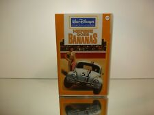 VINTAGE VHS VIDEO VW VOLKSWAGEN BEETLE - HERBIE GOES BANANAS - WALT DISNEY 1980