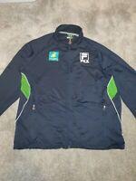 Bnp Paribas Vintage Fila Jacket Navy/Green Size UK XXL