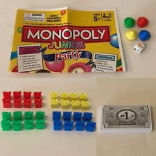 Monopoly Junior Jr Party Board Game Replacement Parts Pieces Choice Cake Toppers