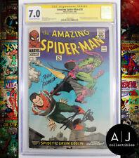 Amazing Spider-Man #39 CGC 7.0 (Marvel) Signed Stan Lee John Romita