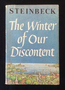 The Winter Of Our Discontent SIGNED by John Steinbeck 1961 Viking Press BCE