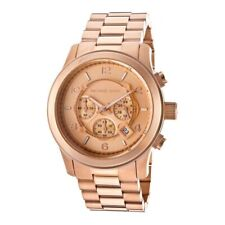 6fef8d50d583 Michael Kors MK8096 Men s Runway Rose Gold Tone Stainless Steel Oversize  Watch