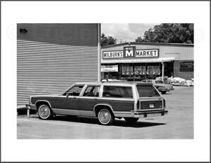 Black and White Photograph - Milburn's Country Squire -  8.5X11 Archival Print
