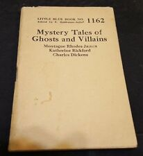 MYSTERY TALES of CHOSTS & VILLAINS by CHARLES DICKENS Little Blue Book #1162